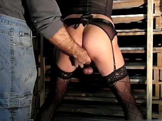 hard anal session for this tranny submitted