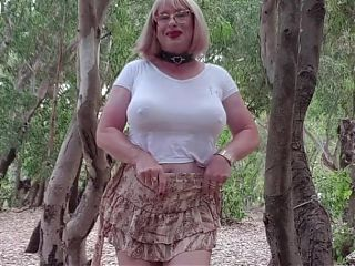 Dogging sluts Alina outdoor.